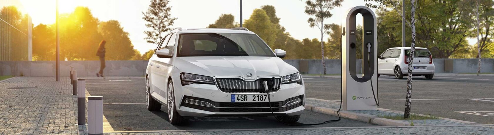 skoda superb iv som lader